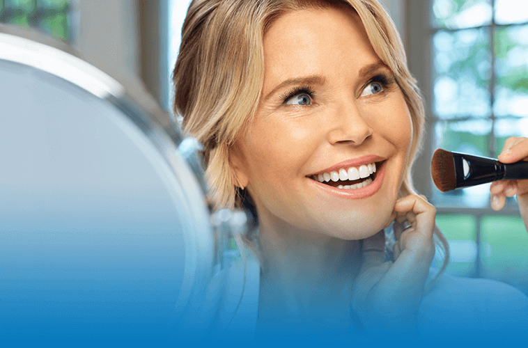 Christie Brinkley for XEOMIN® for Frown Lines; Before and After Photos & Reviews